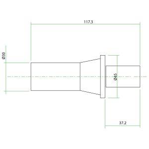 9111700-VZ Teflon Extension for CAT