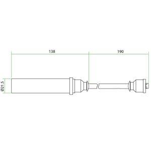 9112002 Teflon Extension for Daewoo GV222TIC