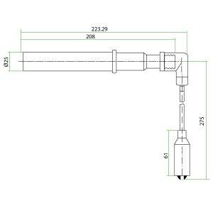 9125301 Mwm Teflon Extension