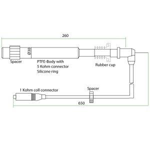 9126001 Mwm Teflon Extension