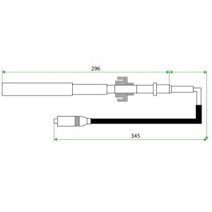 9129701 Guascor Teflon Extension