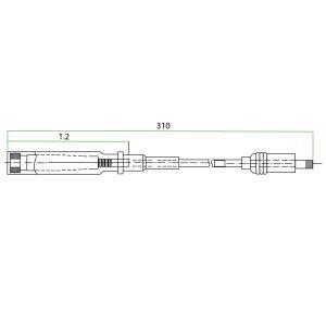 9214204 MAN Teflon Extension
