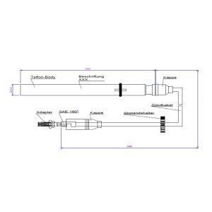 9153204 ES Liebherr Teflon Extension