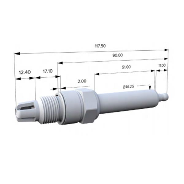 goetze industrial spark plug g-6001
