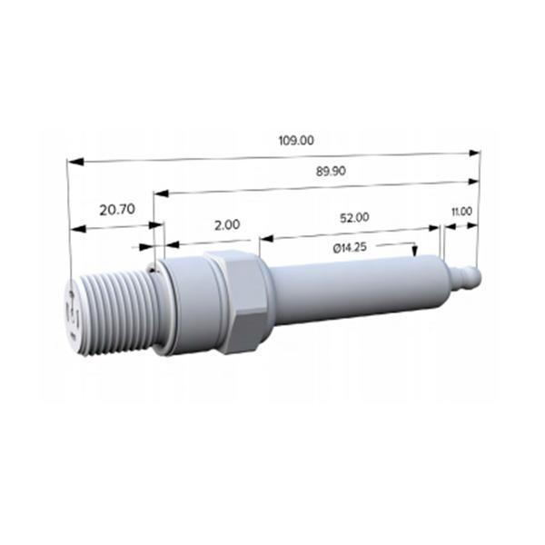 goetze industrial spark plug g-6004