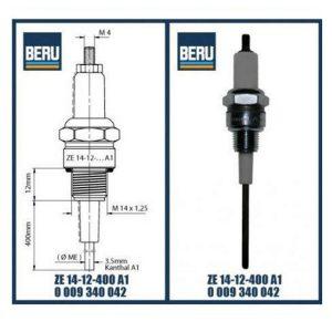 ZE14-12-400A1 BERU ELECTRODES