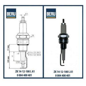 ZK14-12-100LA1 BERU ELECTRODES