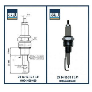 ZK14-12-35-2L BERU ELECTRODES