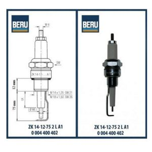 ZK14-12-50A1 BERU ELECTRODES